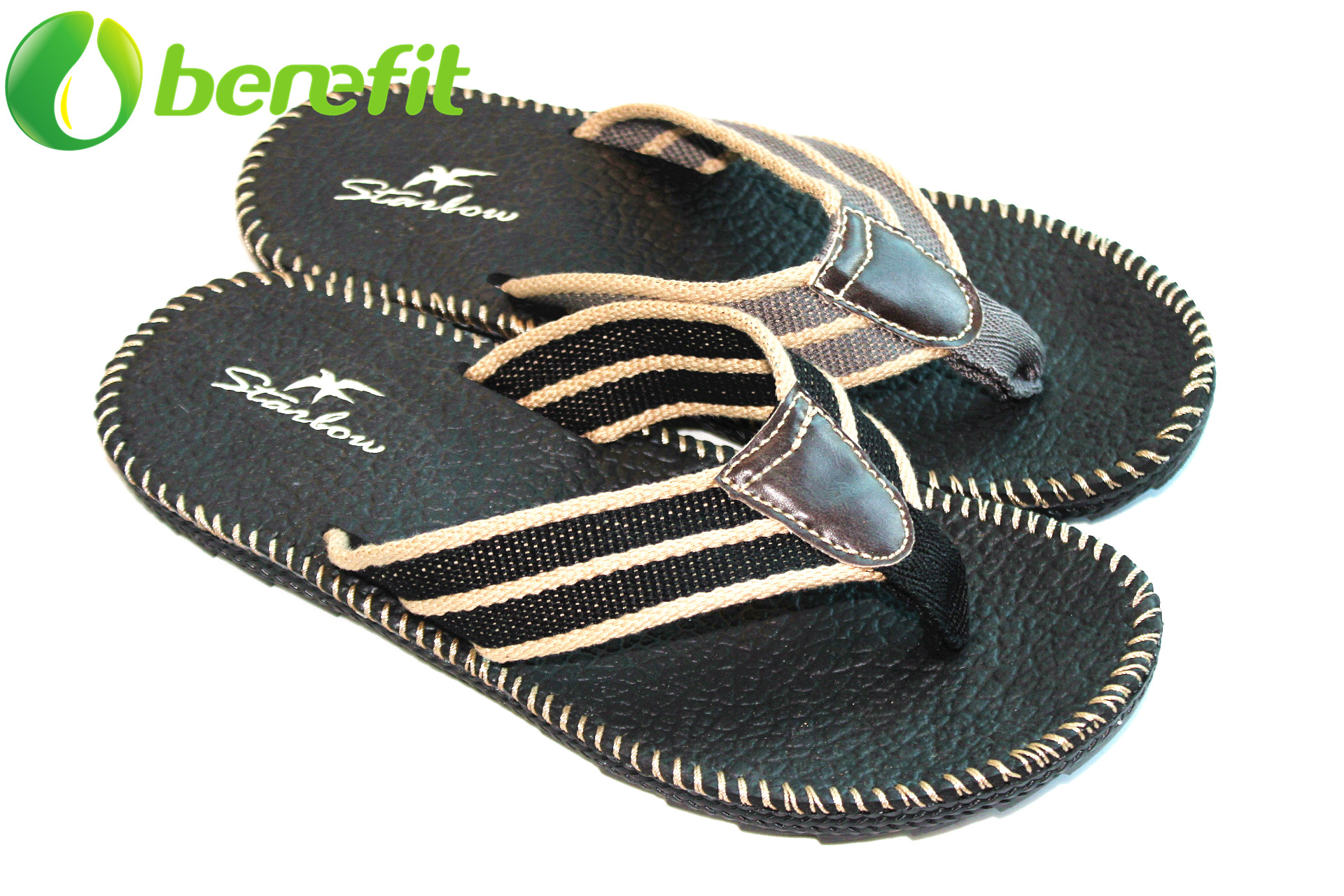 Casual Flat Mens Sandals for Wide Feet