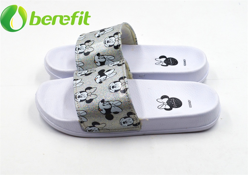 Slippers for Kids And Indoor Slippers with PU Upper with Mickey Design