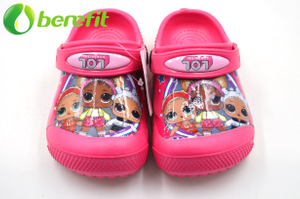 Chirdren LOL Pink Garden Shoes Popular