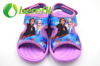 Cute Sandals for Girls in Sublimation Upper with FROZEN Design And EVA Sole