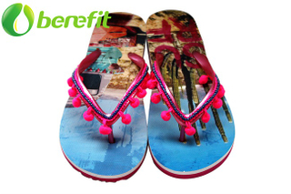Slippers Women And Slippers Ladies for Beach Style with PVC Upper And EVA Sole