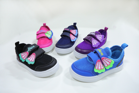 Colorful Baby Girl Walking Shoes