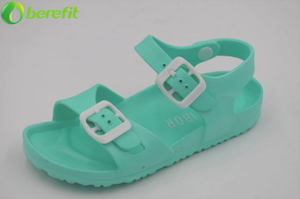 Toddler Children EVA Green Colorful Sandal Shoes