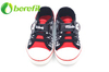 Casual Shoes for Kids with Comfortable Black Canvas Shoes with laces for Running Shoes