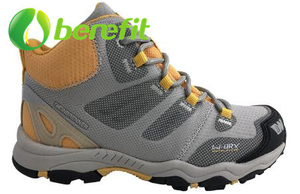 Women Sports Shoes with High Top Nubuck And PU Upper for Climb Mountain Shoes