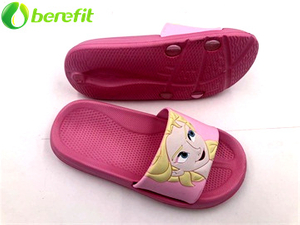 Frozen Pink Elsa Kids' girls Slides slippers for summer