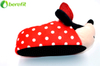 Minnie Mouse Girls Kids Black & Red House Indoor Slipper