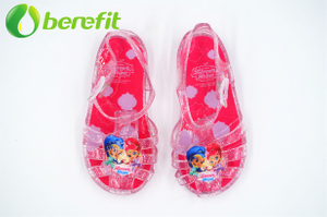 Pink Jelly Shos Kids